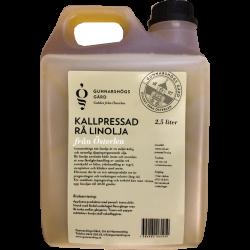 Linolja Rå Kallpressad 5 L